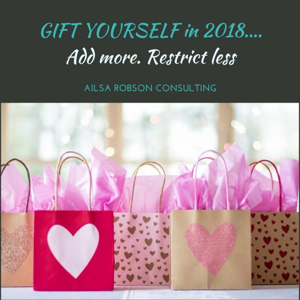 Gift yourself in 2018